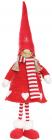 """М'яка іграшка """"Дівчинка в червоному ковпаку і в червоній шубці"""" 58см"""
