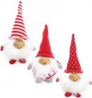 """Новорічна м'яка іграшка """"Щасливий Санта"""" 17см"""