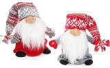 """Новогодняя мягкая игрушка """"Счастливый Санта"""" 25см"""