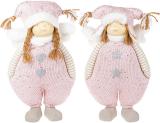 """Набір 2 м'яких іграшки """"Дівчинка в рожевому комбінезоні"""" 35см"""