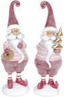 "Набор 2 статуэтки ""Санта"" Bordo 6х5.5х19см, полистоун"