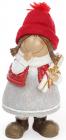 """Фігурка декоративна """"Дівчинка в червоній шапці"""" 22см"""