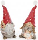 """Набір 2 декоративні фігурки """"Різдвяні Гноми"""" 30.5см"""