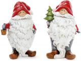 """Декоративна фігурка """"Усміхнений Санта"""" 10х7х16.5см"""