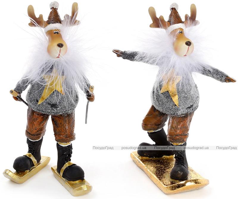 """Декоративна фігурка """"Гірський олень"""" 7.5х6х15см"""
