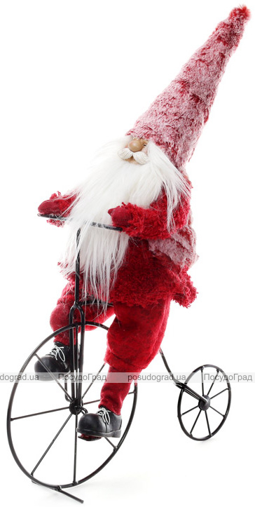 "Декоративная фигура ""Санта на велосипеде"" 40.5х17х66см"