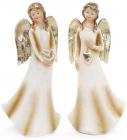 """Фігурка декоративна """"Ангел в золотому"""" 17.5см"""