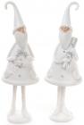 """Фігурка декоративна """"Сніговий Санта"""" 30см"""