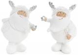 """Фігурка декоративна """"Сніговий Санта"""" 6х5.5х10см"""