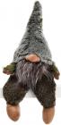 """Декоративна фігурка """"Гномик"""" з тканини 18х12х45см, зелений"""