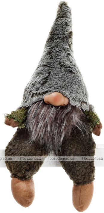 """Декоративная фигурка """"Гномик"""" из ткани 18х12х45см, зеленый"""
