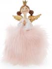 """Декоративна фігурка """"Принцеса в пишному рожевому платті"""" 16см"""