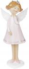 """Фігурка декоративна """"Ангел в рожевій сукні"""" 28см"""