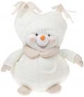 """М'яка іграшка """"Сніговик в пухнастій шапці"""" 28см"""