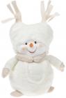"""М'яка іграшка """"Сніговик в пухнастій шапці"""" 23см"""