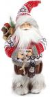 """Новогодняя игрушка """"Санта Клаус в свитере"""" 30см"""