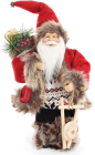 """Новорічна іграшка """"Санта Клаус"""" 30см, в червоному (102)"""