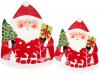 """Блюдо сервировочное """"Санта с подарками"""" 33х27см керамическое"""