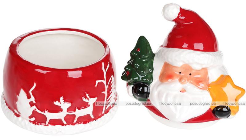 "Цукорниця керамічна ""Санта з подарунками"" 260мл"