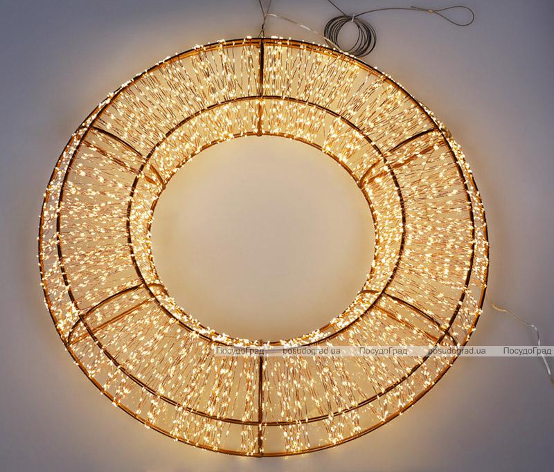 """Декор з LED-підсвіткою """"Вогняне Кільце"""" Ø70см"""