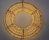 """Декор з LED-підсвіткою """"Вогняне Кільце"""" Ø50см"""