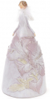 """Фігурка декоративна """"Тіффані в рожевому"""" 19.5см"""