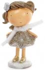 """Декоративна фігурка """"Дівчинка-ангел"""" 8.3х6.8х13.5см"""