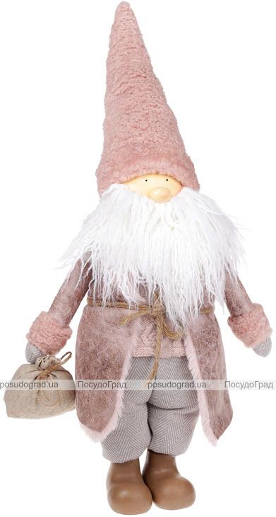 """Мягкая игрушка """"Санта с мешочком"""" 56см"""
