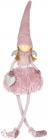 Фігура декоративна «Янгол в рожевому» 19.5х19.5х70см