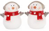 Набор для специй Снеговик 6.8х5.1х7.7см (солонка/перечница)