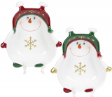 Набір 2 керамічних піали «Запальний сніговик» 500мл