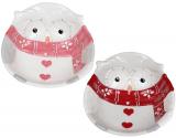 Набор 2 керамические салатницы «Совушкин Уют» 550мл