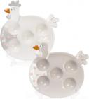 """Тарілка """"Курочка"""" для яєць (5 осередків)"""