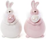 """Банка керамічна """"Великодній кролик"""" 450мл для сипучих продуктів"""
