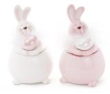 """Банка керамическая """"Пасхальный кролик"""" 200мл для сыпучих продуктов"""