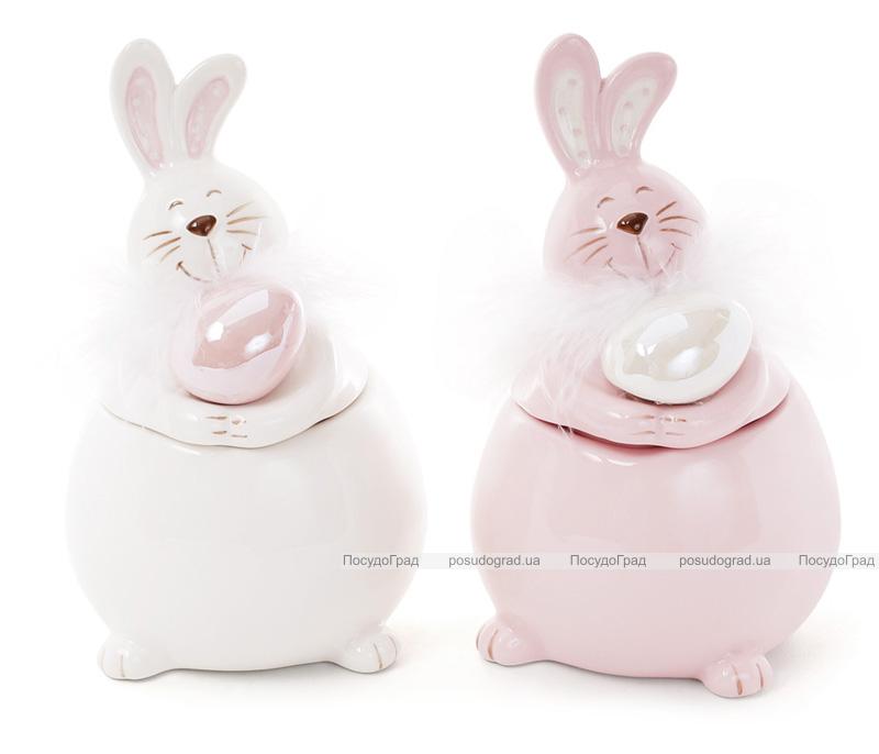 """Банка керамічна """"Великодній кролик"""" 200мл для сипучих продуктів"""