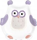 "Набор 2 блюда ""Owl Family"" 22.8см керамика"