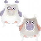 """Набор 6 пиал """"Owl Family"""" 150мл керамика"""