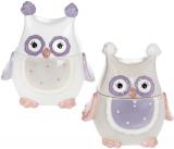 """Банка """"Owl Family"""" 250мл з керамічною кришкою"""