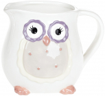 """Глечик """"Owl Family"""" 1.2л з керамічний"""
