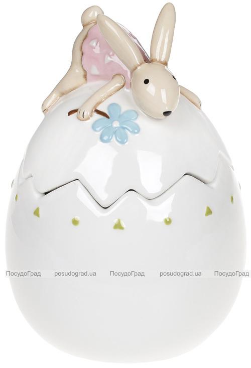 """Банка керамічна """"Зайка на яйці"""" 500мл"""