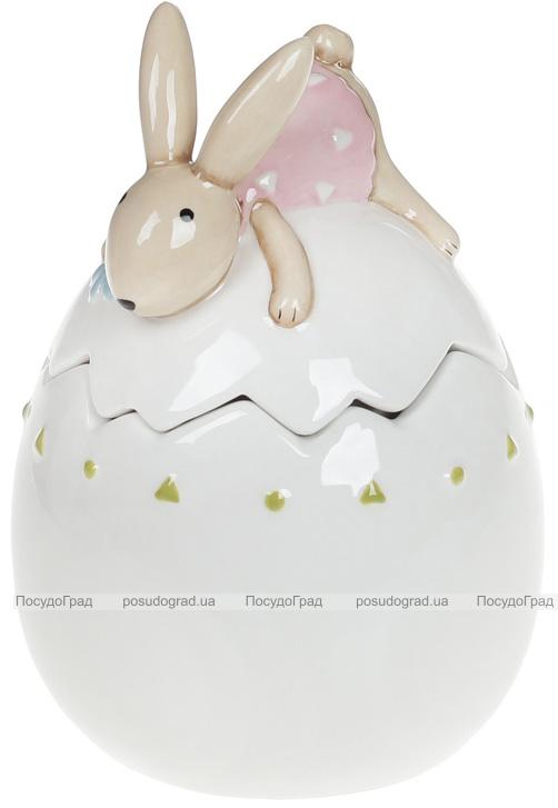 """Банка керамічна """"Зайка на яйці"""" 250мл"""