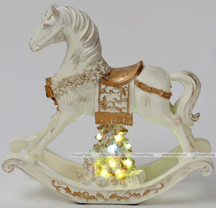 """Музыкальная статуэтка """"Лошадка"""" с LED-подсветкой 27.5х8.3х26см"""