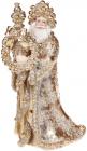"""Декоративна статуетка """"Золотий Санта"""" 30.7см"""