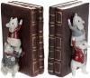 """Декоративный держатель для книг """"Мышки-библиотекари"""" 12х18х17см"""