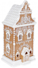 """Декор """"Пряничне Будиночок"""" з LED підсвічуванням 16.8х14.2х34.3см"""