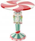 """Підставка для торта """"Лускунчик"""" 27.5см, кераміка, м'ятний льодяник"""