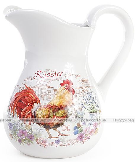"""Кувшин """"Огненный Петух"""" Rooster 1л, керамический"""