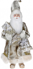 Фигура «Санта с подарками» 46см (мягкая игрушка), шампань