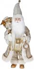 Фігура «Санта з годинником» 46см (м'яка іграшка), шампань